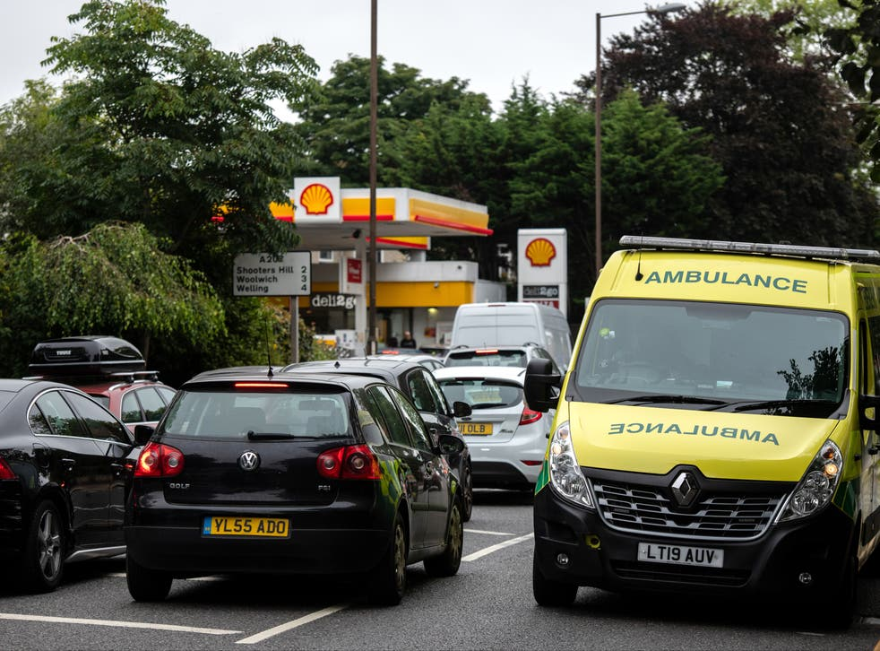 <p>Ministers are hoping the pressure will ease as motorists move back to their routine buying patterns</p>
