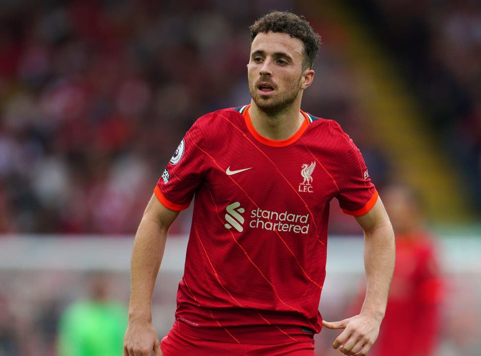 Liverpool forward Diogo Jota did not arrive at Anfield intent on splitting up their famed front three (Peter Byrne/PA)