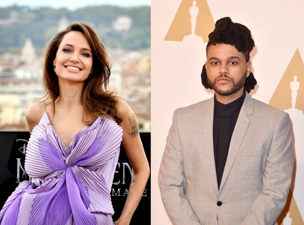 <p>Fans react to reports Angelina Jolie and The Weeknd are dating</p>