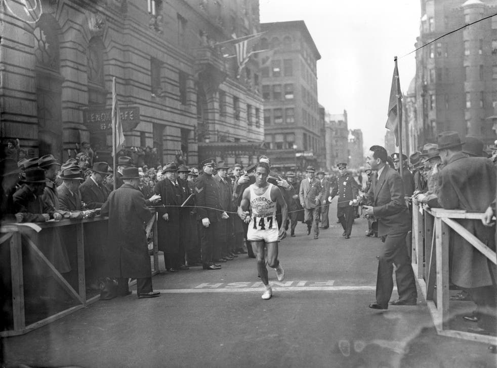 Boston Marathon Indigenous Champion