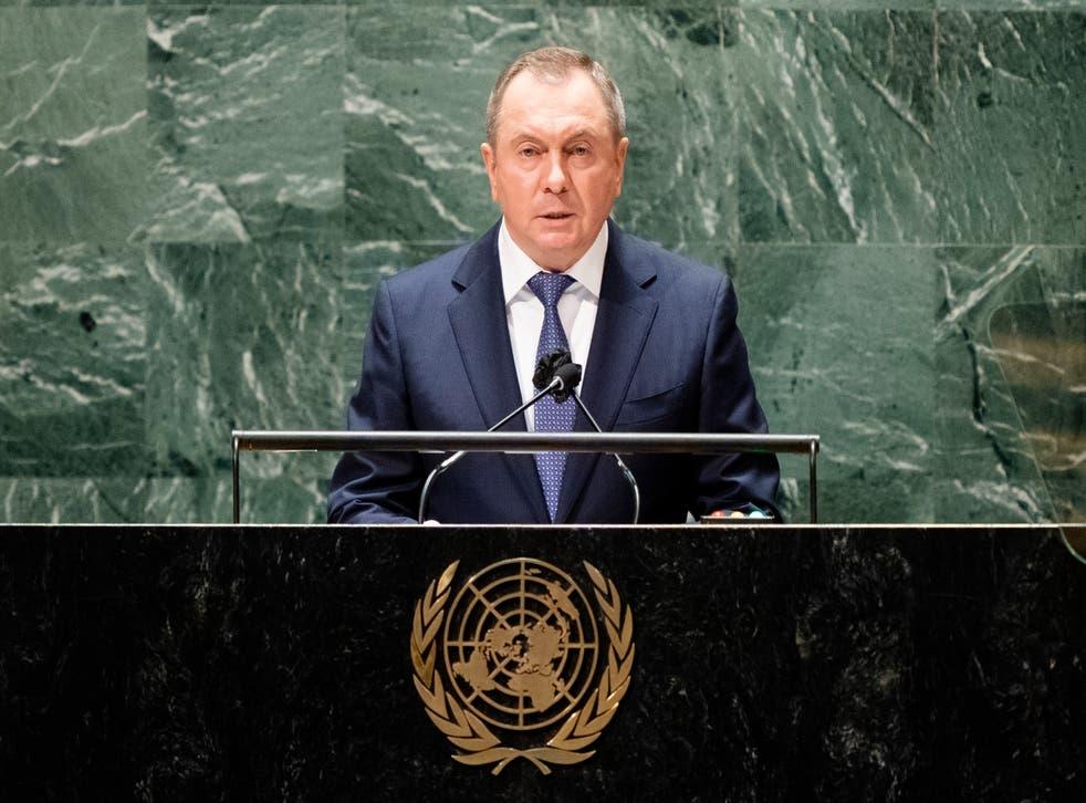 UN General Assembly Belarus