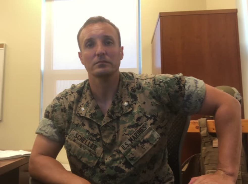<p>The marine posted a video in August lambasting US military leadership for chaotic Afghanistan withdrawal </p>