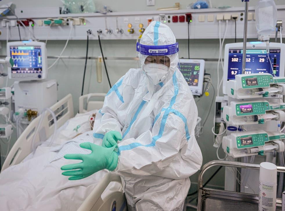 Virus Outbreak Eastern Europe Vaccinations