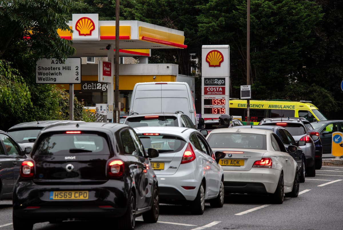 Image What is causing the UK fuel shortages?