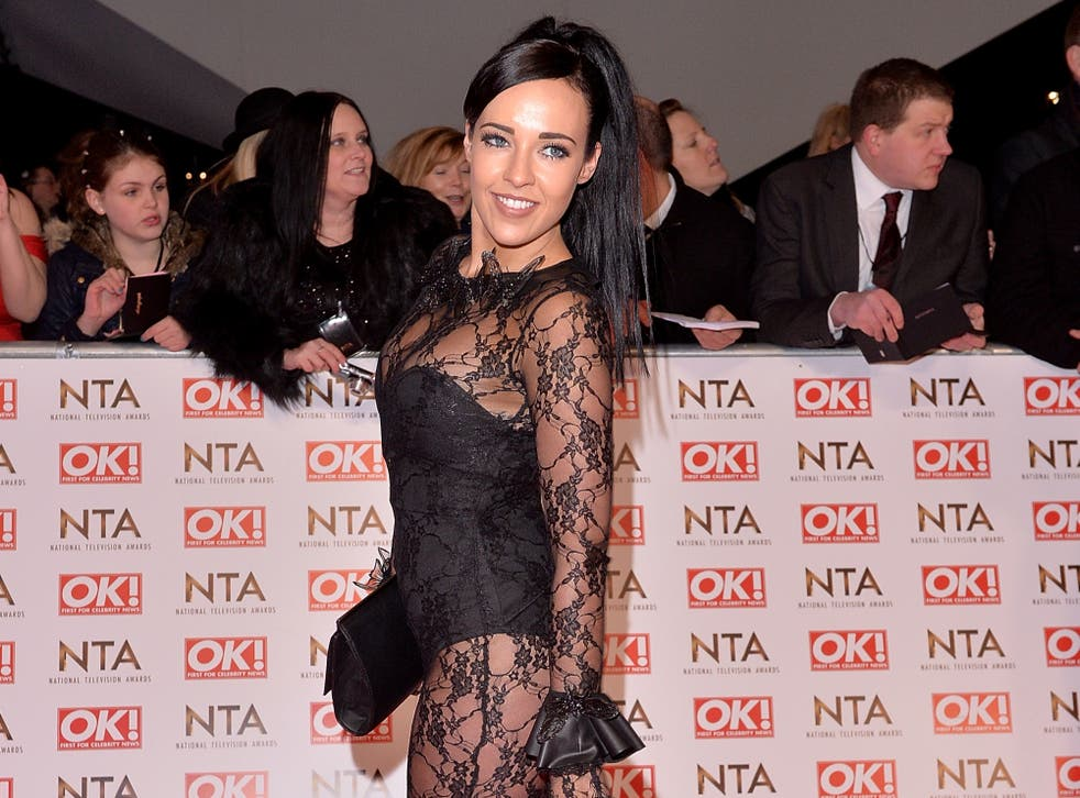 <p>Stephanie Davis at the National Television Awards in 2015</p>