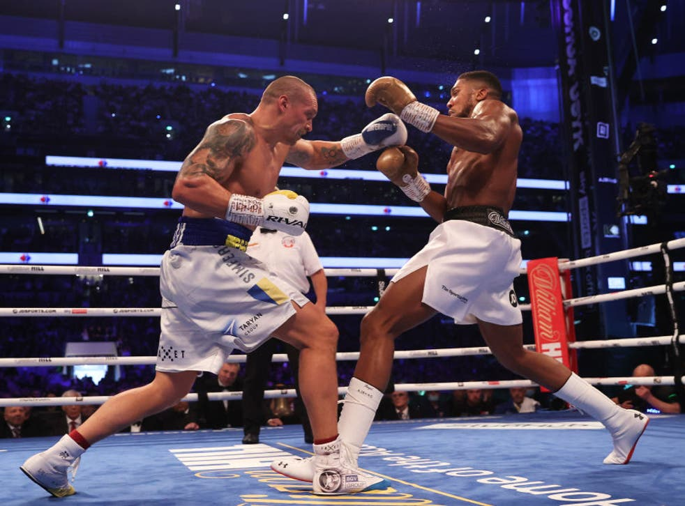 <p>Usyk and Joshua look set to rematch in the early part of 2022</p>