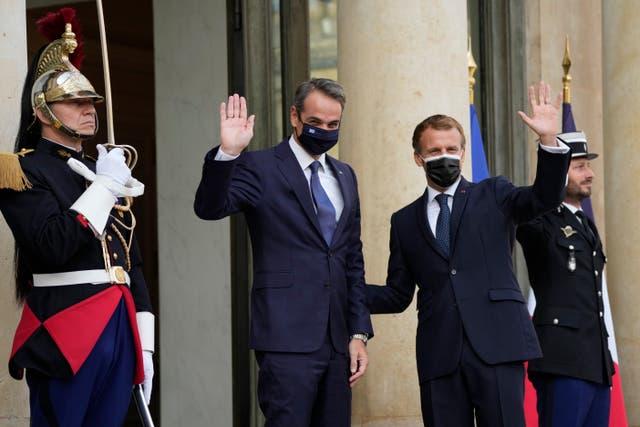 FRANCIA-GRECIA-BUQUES MILITARES