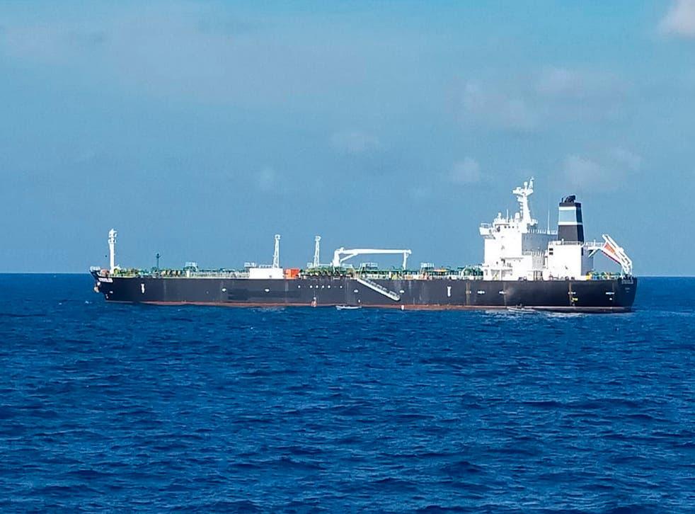 Indonesia Tanker Seized