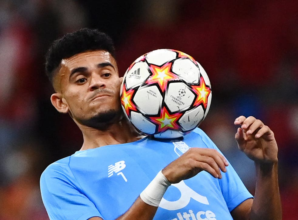 <p>FC Porto's Colombian midfielder Luis Diaz will be one to watch against Liverpool</p>