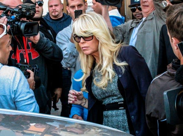 Dina Lohan Arrest