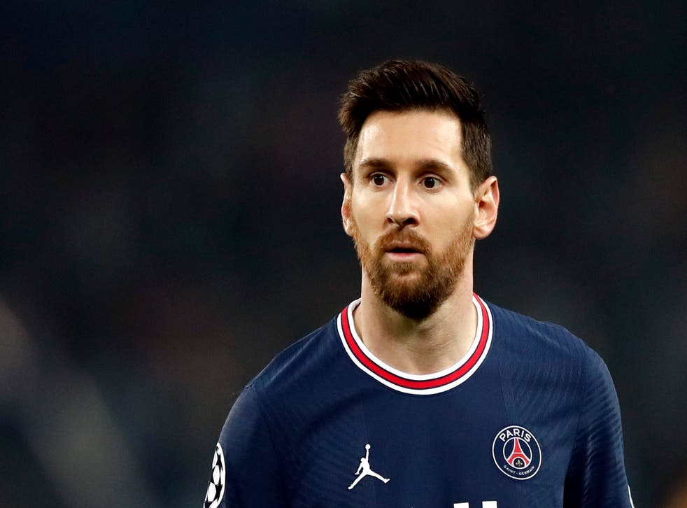 <p>Lionel Messi in action for PSG</p>