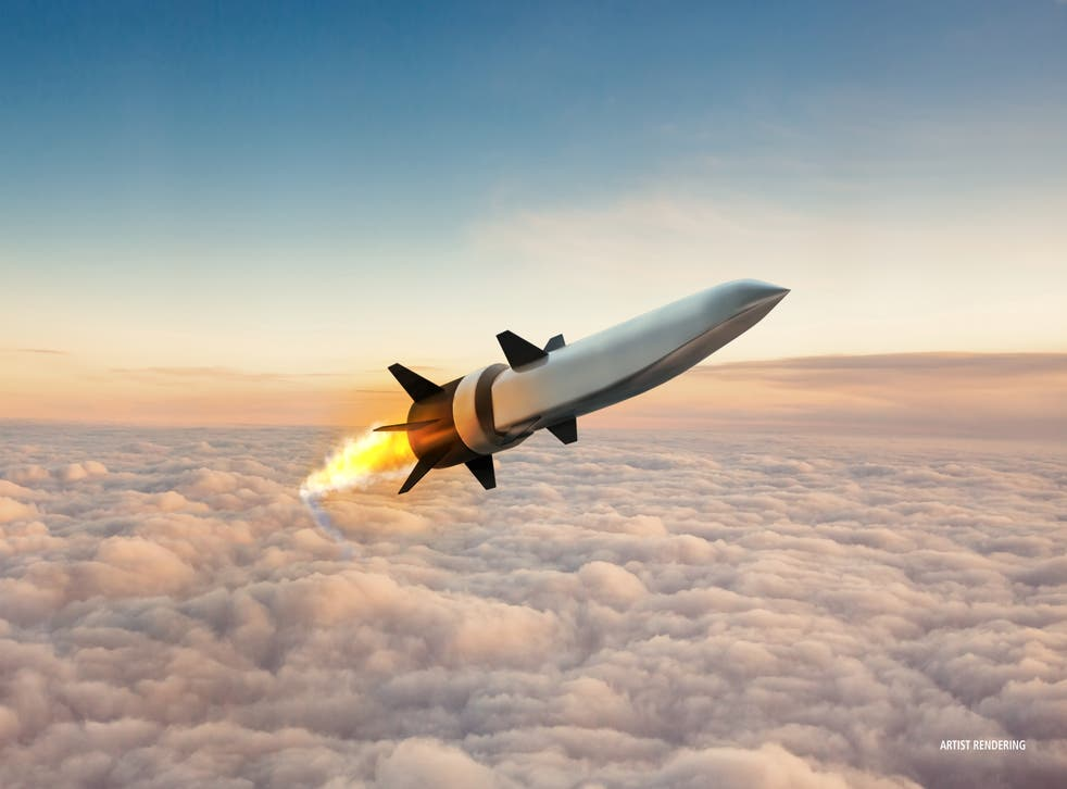<p>Last week, the US carried out a successful test of a hypersonic missile </p>