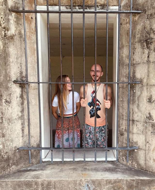 Gabby Petito y Brian Laundrie visitaron el Fuerte histórico de Fort De Soto en febrero
