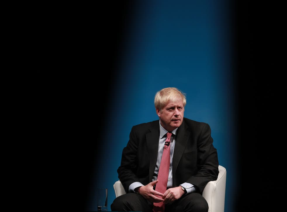 <p>Johnson will surely be prepared to defend Brexit at the Tory conference </p>