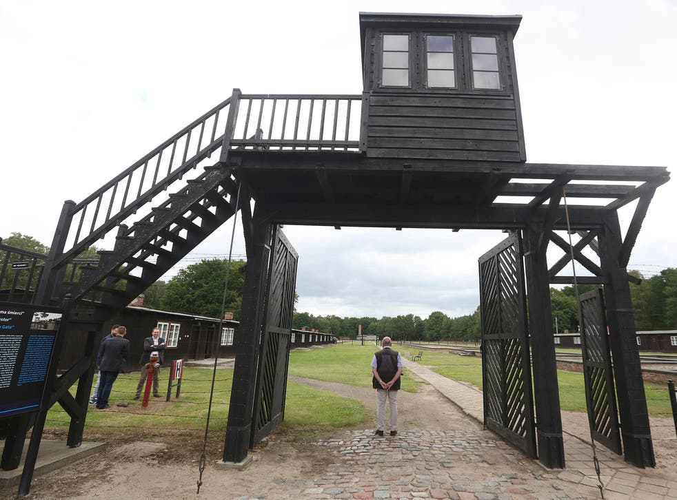 <p>The entrance to the former Stutthof concentration camp</p><p><em> </em></p>