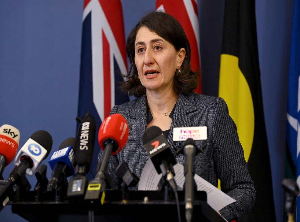 <p>Berejiklian's shock resignation comes as NSW battles the biggest COVID-19 outbreak in the country</p>