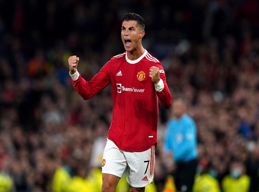 <p>Cristiano Ronaldo struck a dramatic late winner against Villarreal (Martin Rickett/PA)</p>