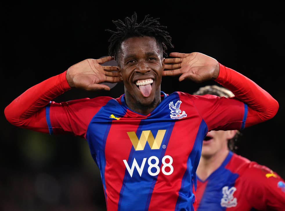Patrick Vieira feels Wilfried Zaha will full realise his achievements at Crystal Palace when he retires (John Walton/PA)
