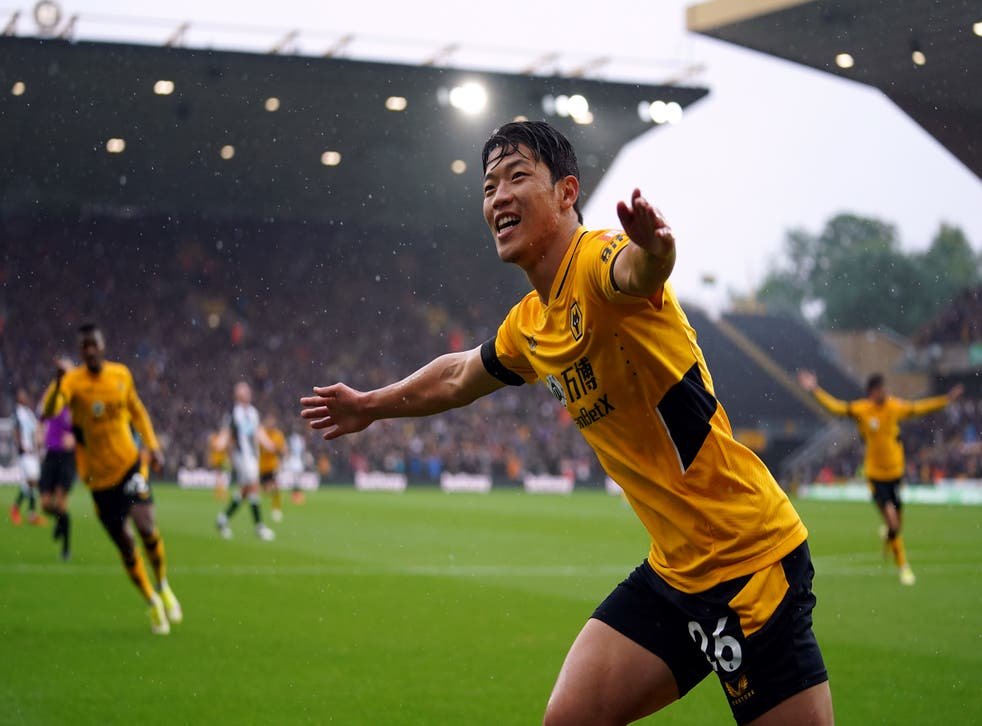 Wolves boss Bruno Lage hails Hwang Hee-chan after striker's brace sinks  Newcastle   The Independent