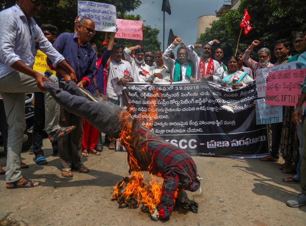 <p>India Farmer Protests</p>
