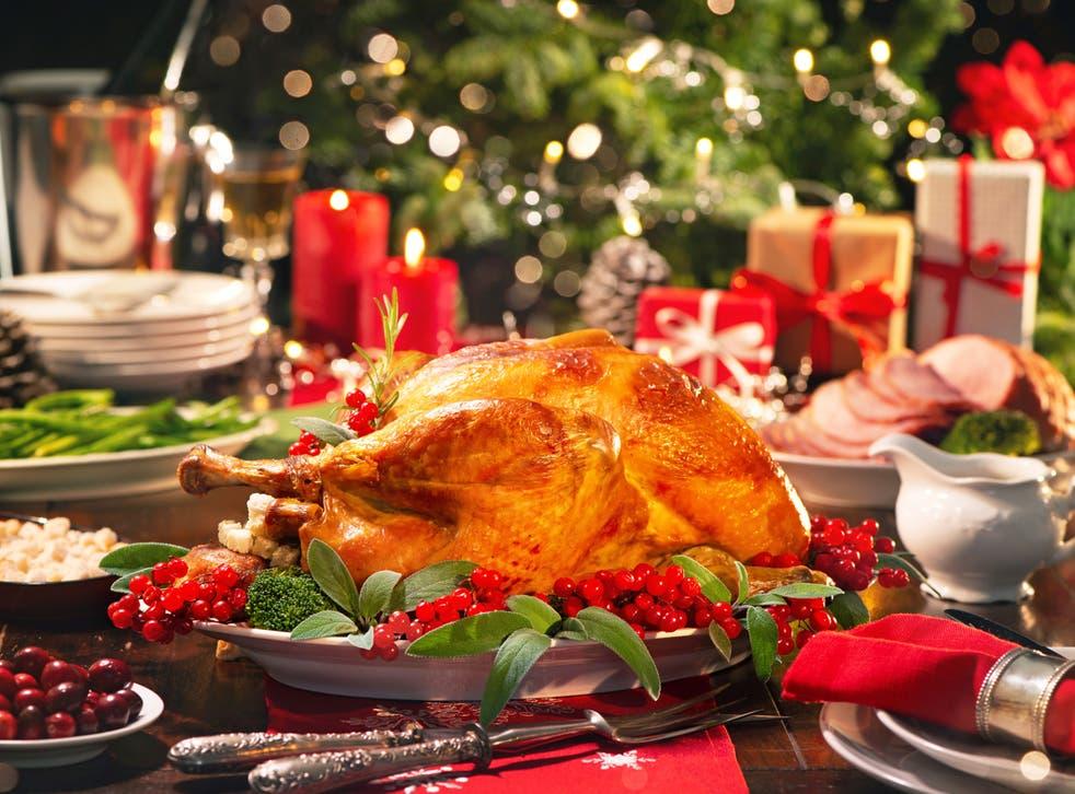 <p>Christmas turkey dinner</p>