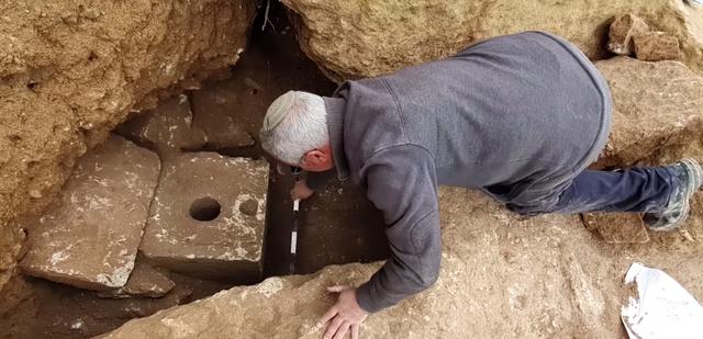 La Autoridad de Antigüedades de Israel dijo que el cubículo del baño privado era muy raro en la antigüedad, y hasta la fecha solo se encontraron unos pocos. Captura de pantalla