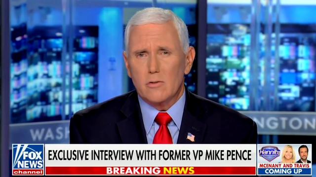 Mike Pence habló con Fox News
