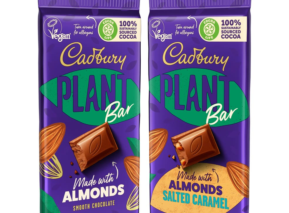 <p>Cadbury announces launch of its first vegan chocolate bar</p>
