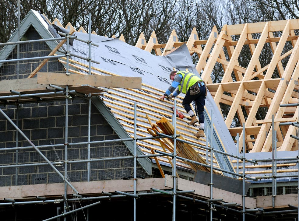 <p>Data suggests persistent shortages are eating into growth in construction </p>