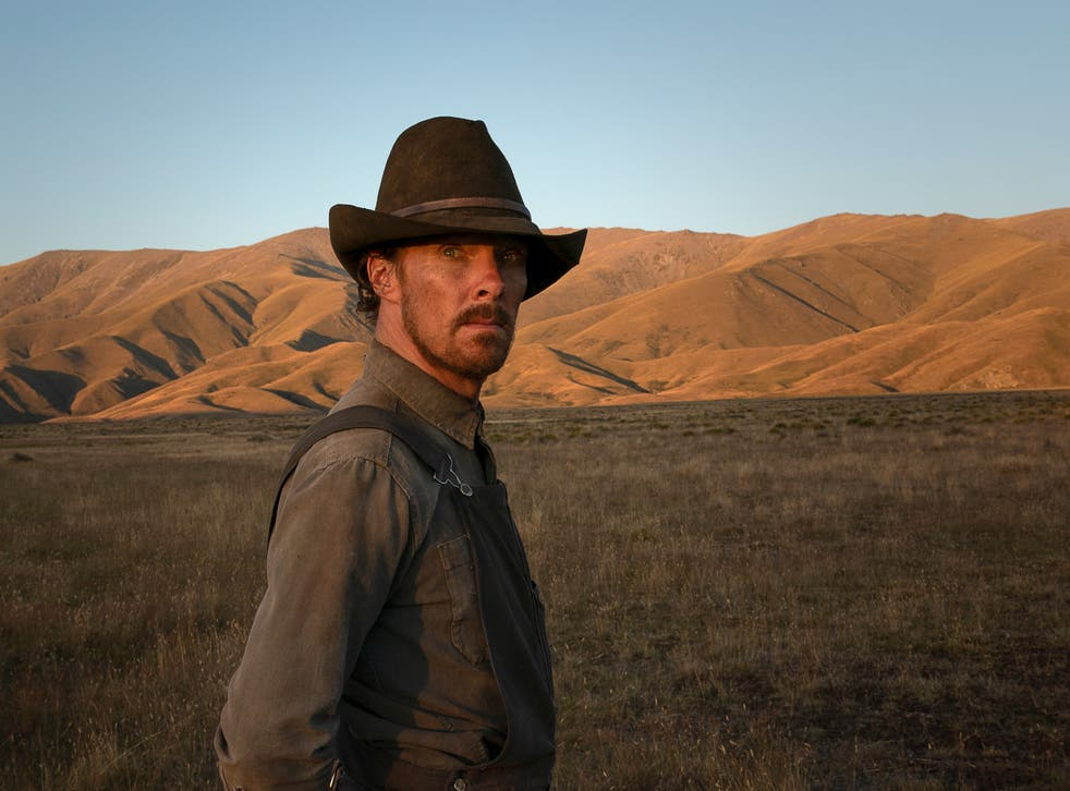 <p>Cumberbatch plays a  laconic, physically imposing rancher in 'The Power of the Dog' </p>