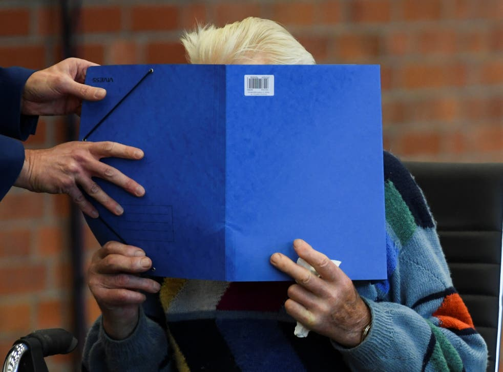 <p>A 100-year-old former Nazi concentration camp guard has gone on trial in Germany</p>
