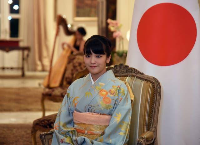 <p>Princesa Mako en septiembre de 2016. </p>