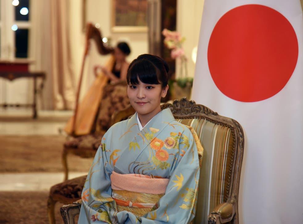 <p>Princess Mako in September 2016</p>