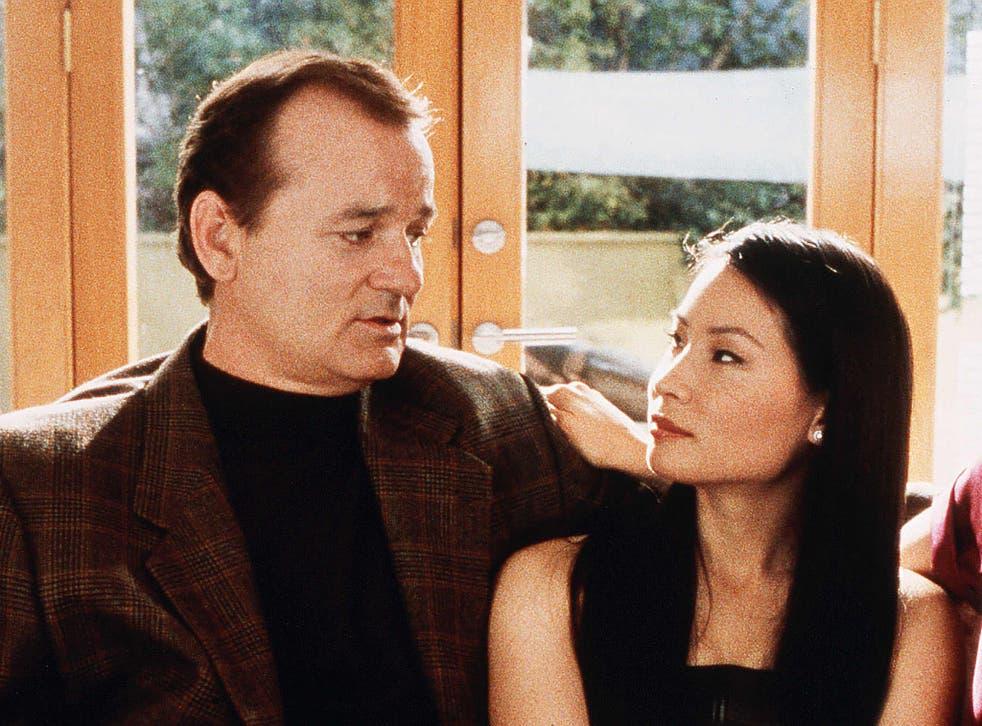 Pelea fuera de cámara: Bill Murray y Lucy Liu en 'Los ángeles de Charlie'