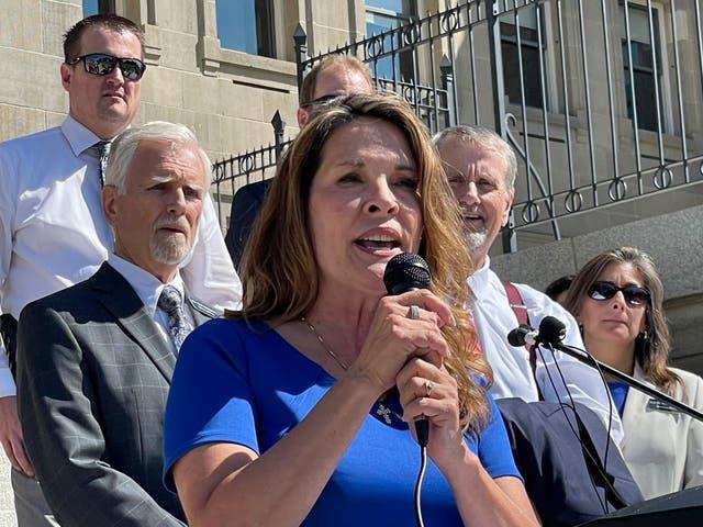 Idaho-Feuding Republicans