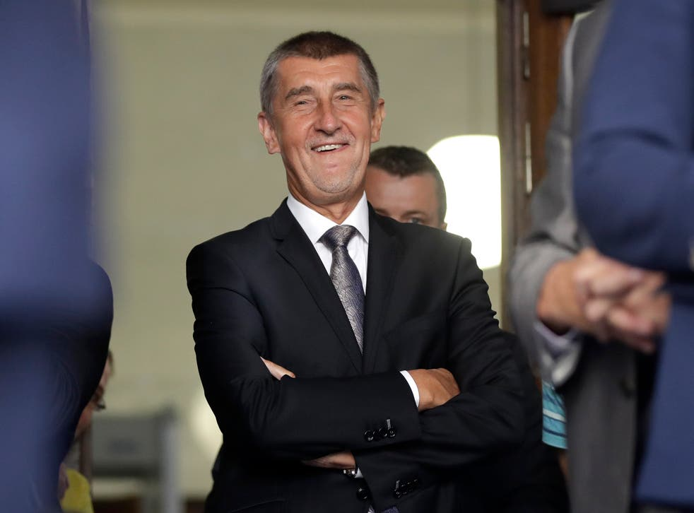 <p>With an election to win, Andrej Babis has taken a leaf from Donald Trump's book</p>