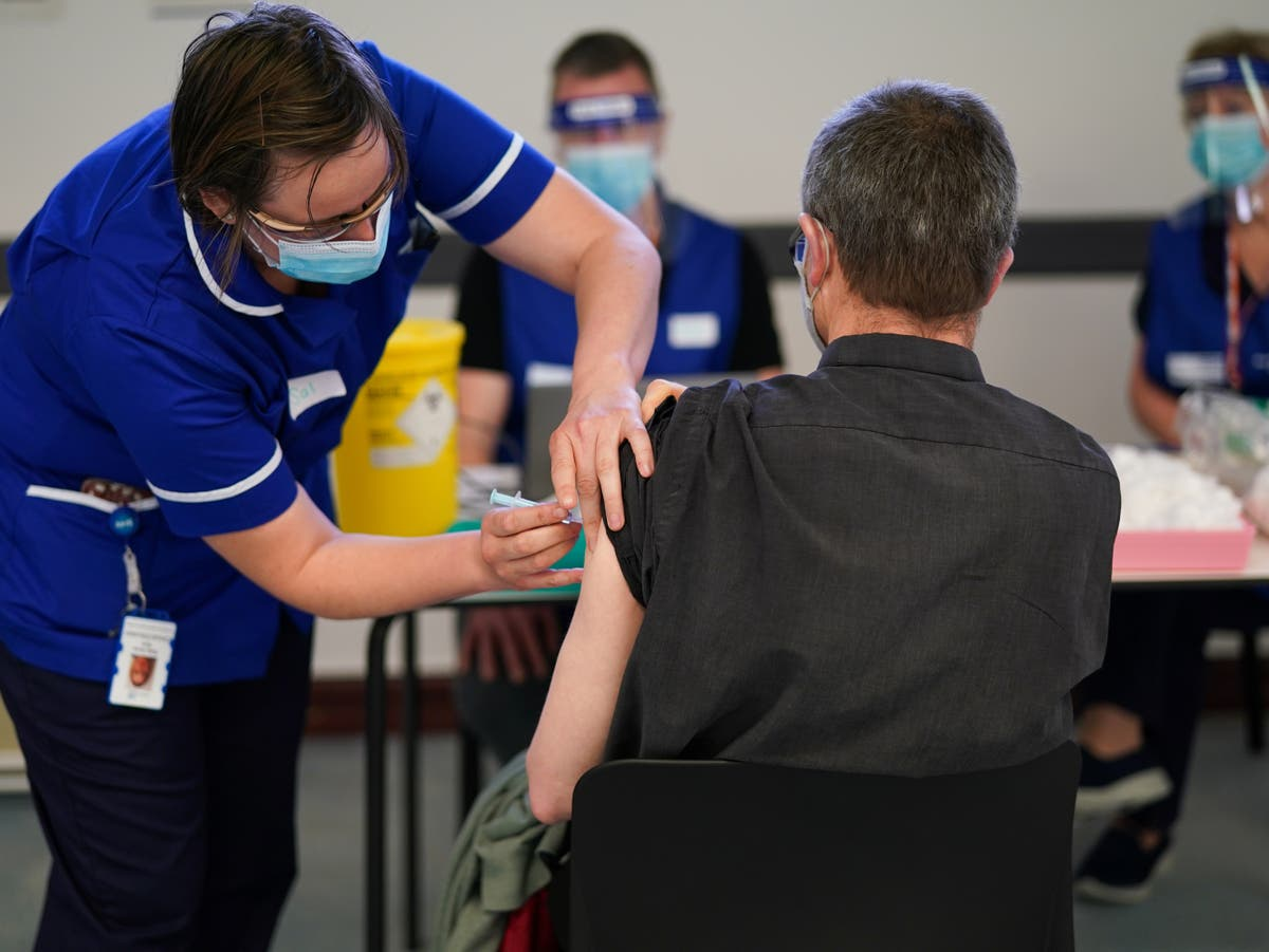 Booster jabs: Two million people in England have now had third Covid vaccine dose