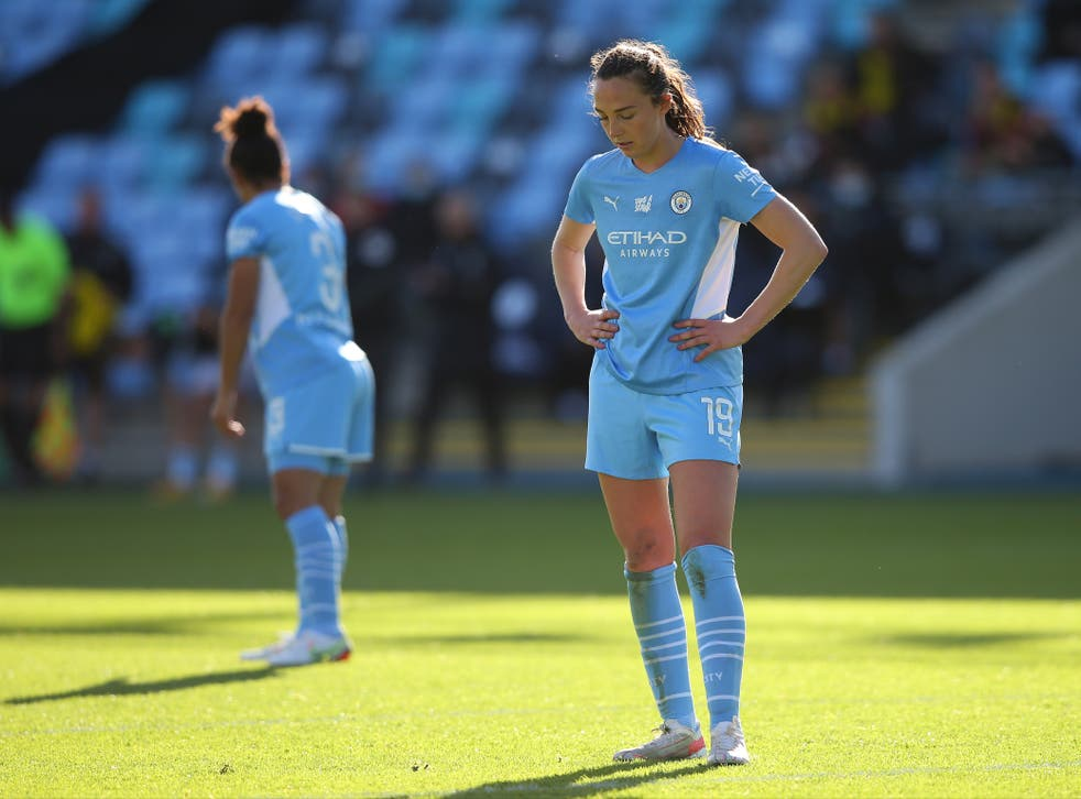 <p>Manchester City are in desperate need of a win </p>