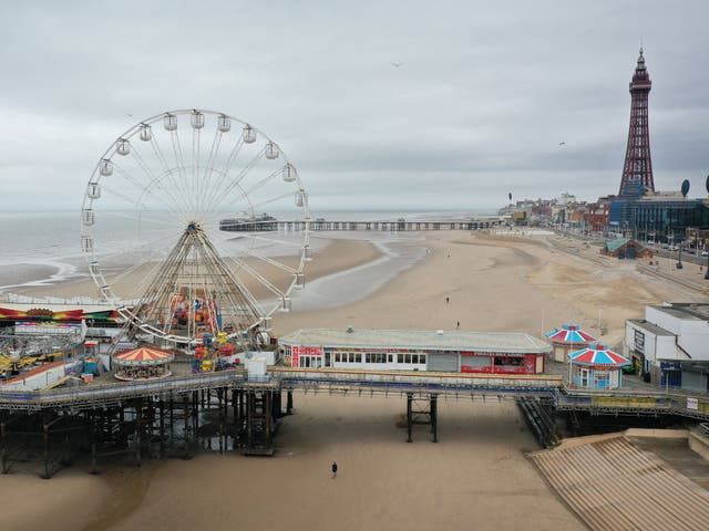 <p>Pier pressure: behind the seaside fun, Blackpool is a byword for Britain's social ills </p>