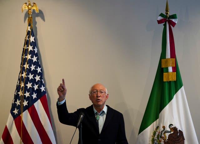 MÉXICO-EEUU-EMBAJADOR