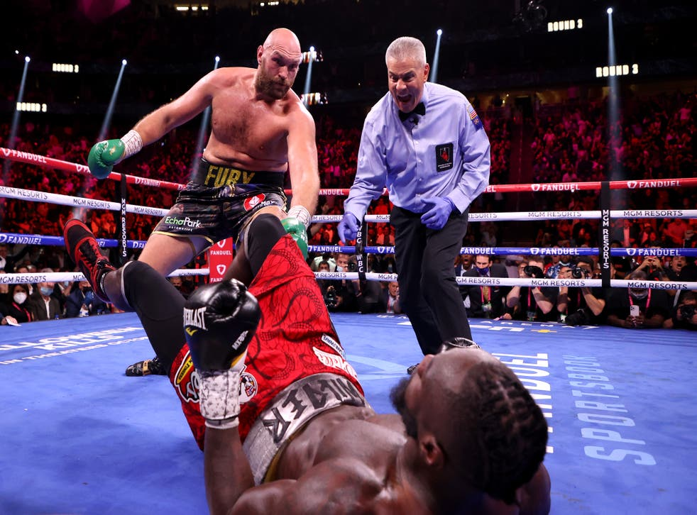 Fury vs Wilder 3 LIVE: Fight stream, latest updates and who won heavyweight  title bout | The Independent