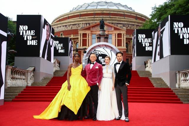 Britain No Time To Die World Premiere