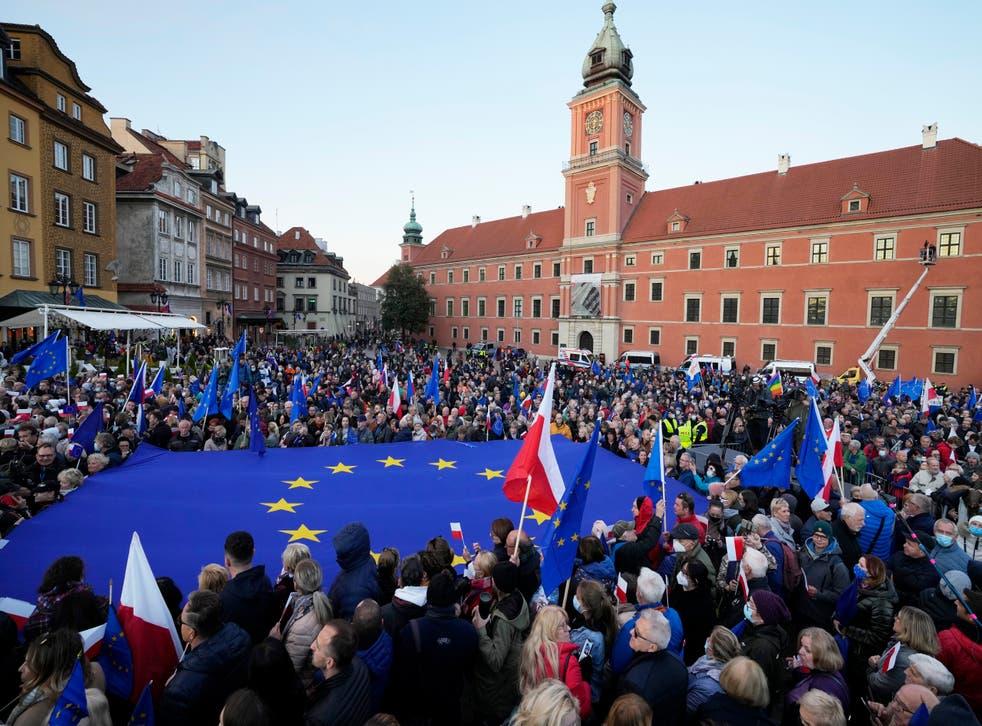 APTOPIX Poland Europe