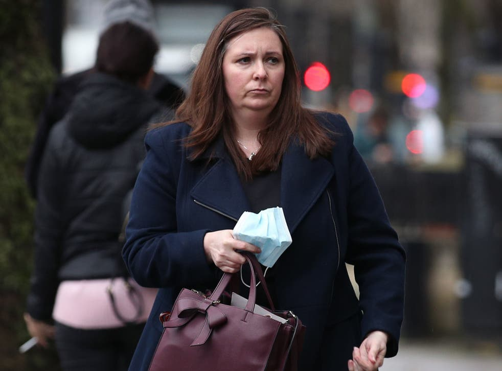 <p>Metropolitan Police forensic scientist Ursula Collins </p>