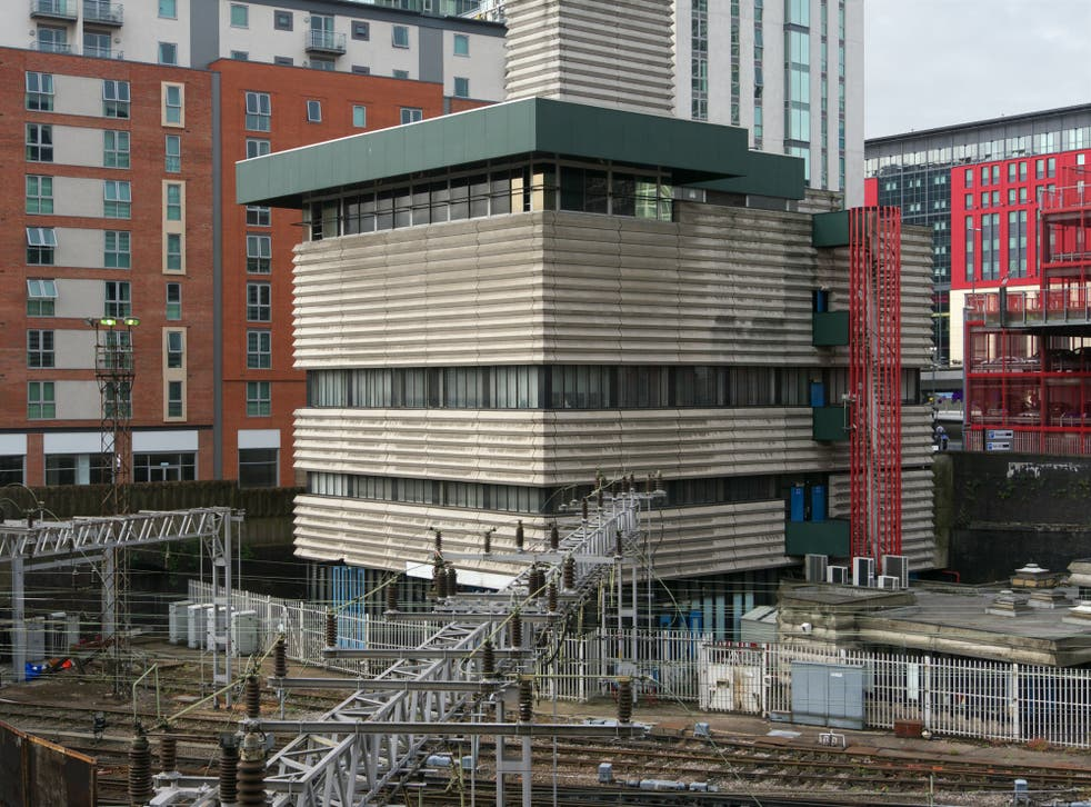 <p>Brutal beauty: the Signal Box at Birmingham New Street Station</p>