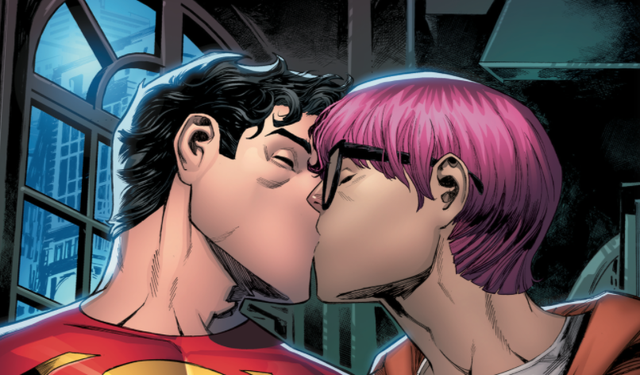 <p>New Superman Jon Kent comes out as bisexual</p>