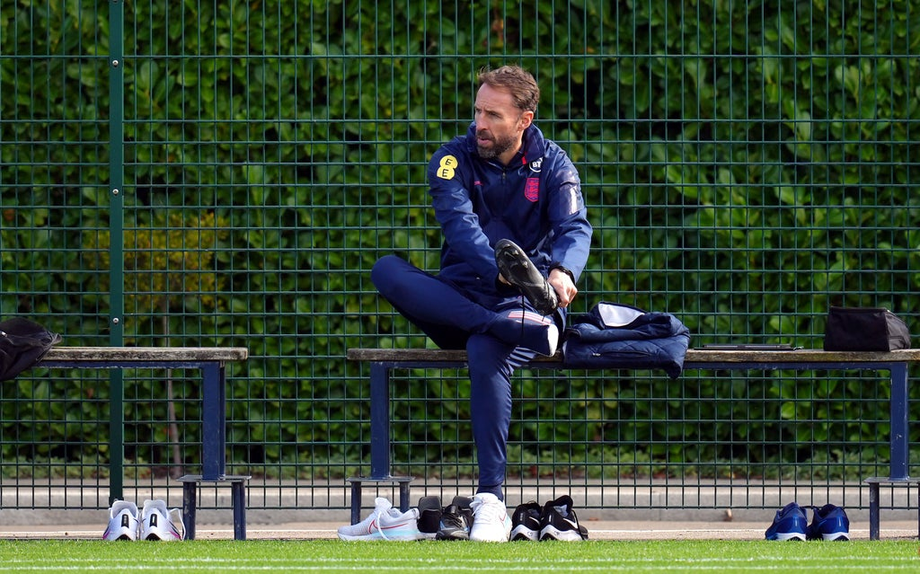 Gareth Southgate to make changes for England's World Cup qualifier with Hungary