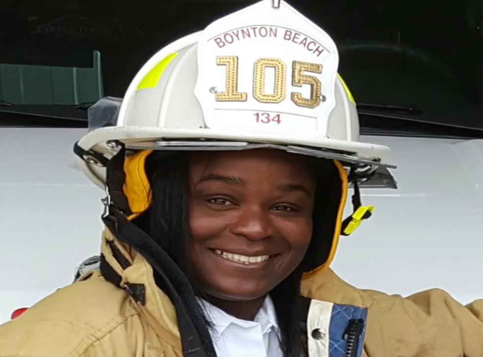 <p>Latosha Clemons is suing the city of Boynton Beach</p>