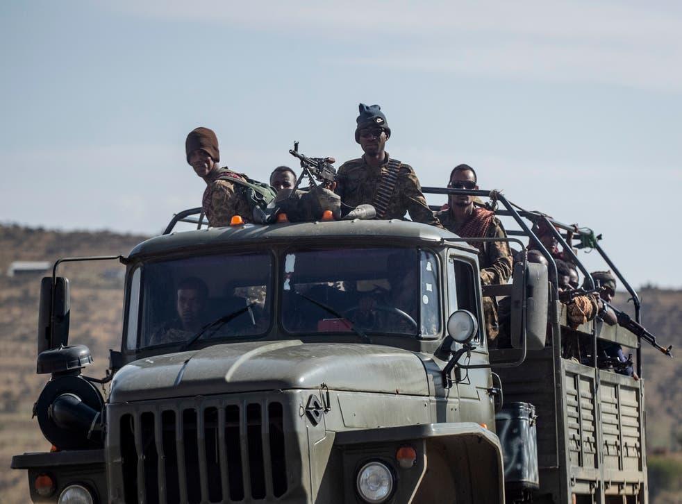 Ethiopia Tigray Conflict New Offensive