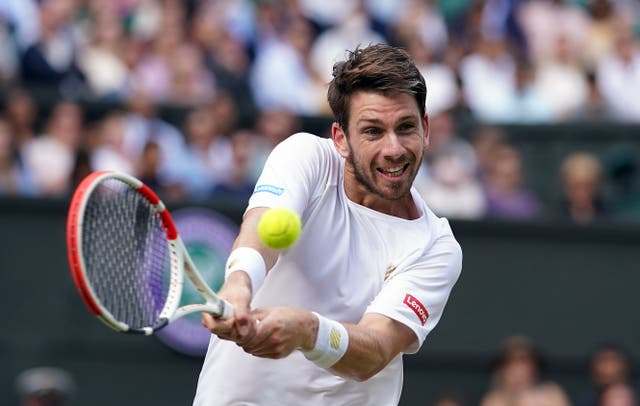Cameron Norrie is into the last 16 at Indian Wells (Adam Davy/PA)